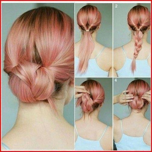 Easy Updos For Medium Hair  #hair #hairstyles #easyhairstyles #Longhairhairstyles