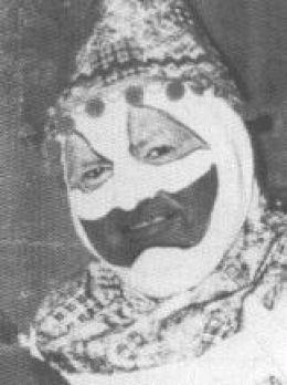 John Wayne Gacy  Dressed As Clown