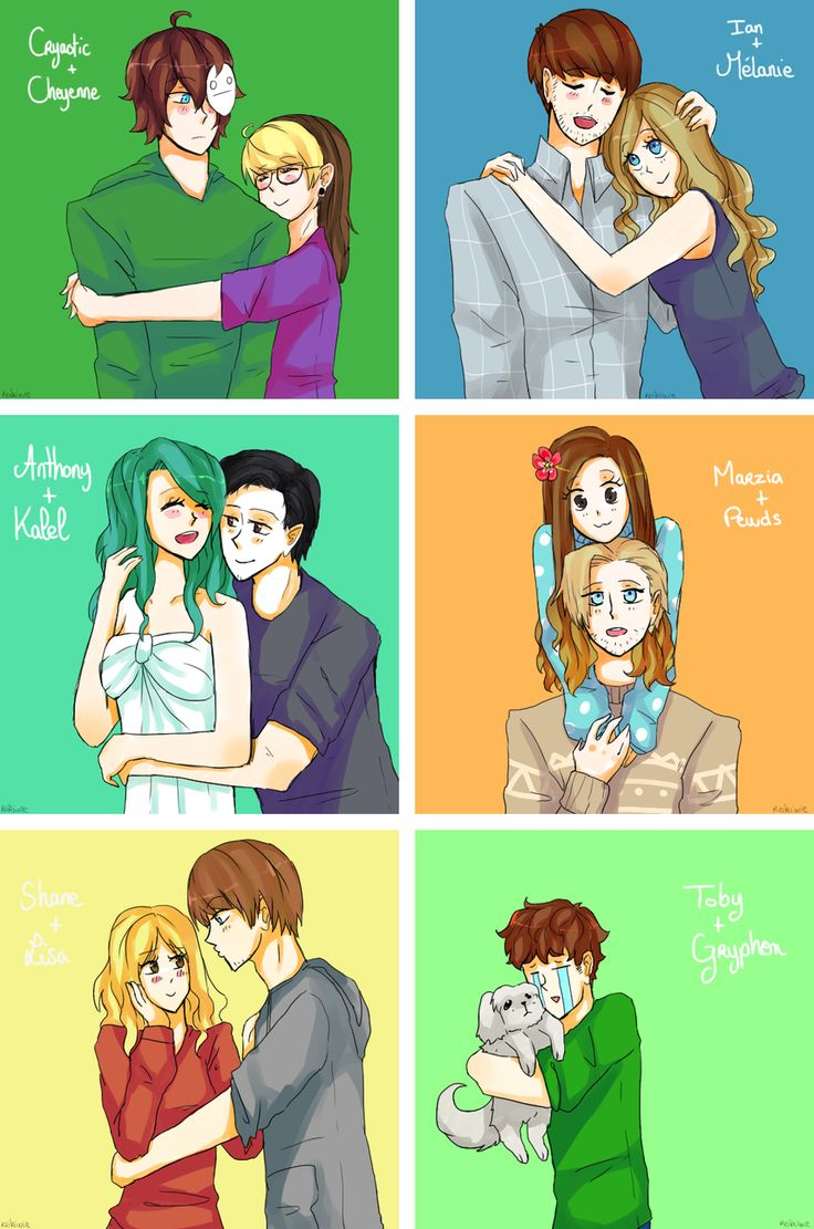 Request : Youtube Couples by Reikiwie.deviantart.com on @DeviantArt   ian and anthony, :'(   they were so cute with their girlfriends. Tobuscus is me