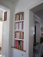 Recessed Shelves For Cookbooks