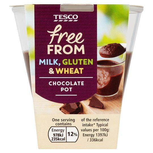 Tesco Free From Chocolate Pot 70G - Groceries - Tesco Groceries