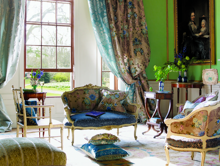 11 best Fabrics images on Pinterest | Designers guild, Fabric wall ...