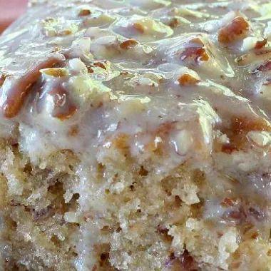 Southern Pecan Praline Sheet Cake, Mouthwatering Coconut Butter Pecan Flavor!