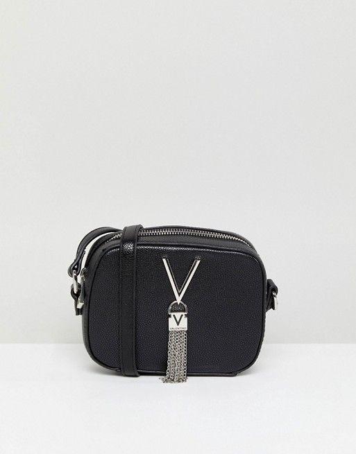 6bd7cd484451d Valentino by Mario Valentino Tassel Detail Camera Cross Body Bag ...