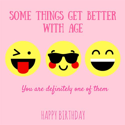 21 Best Emoji Birthday Cards Images On Pinterest