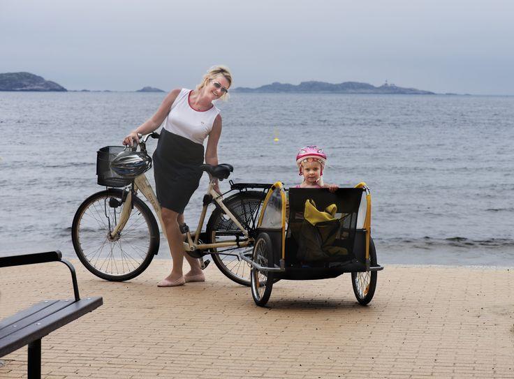 Bikes for rent in Mandal. Photo: Peder Austrud©Visit Sørlandet