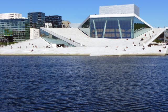 About the Operahuset in Oslo, Norway: Connecting Land and Sea