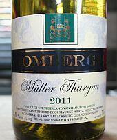 Wijngoed Fromberg Müller Thurgau 2011, Ubachsberg, Voerendaal, Nederlandse wijn