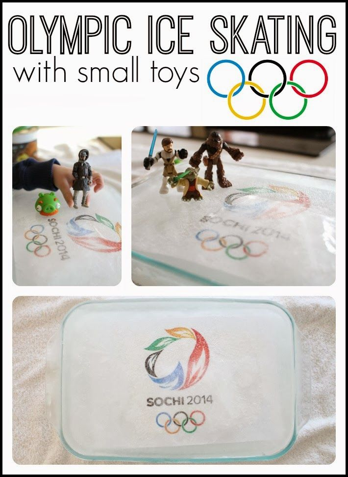 Brassy Apple: DIY Winter Olympic crafts, ideas and games