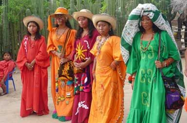 Colombians have adopted beautiful traditional clothes as diverse as the country's nature and terrain.