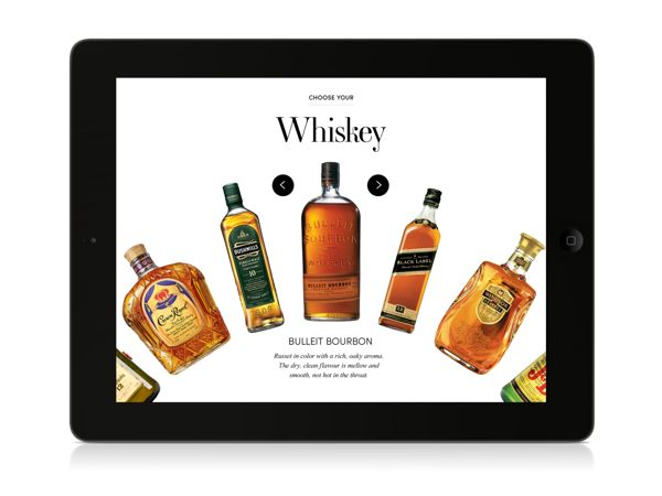 Diageo by Heather Luipold, via Behance