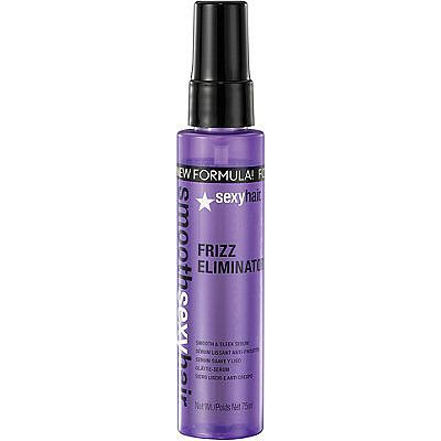 Sexy Hair Frizz Eliminator Smooth and Sleek Serum. Absolutely love this product it tames my excessively frizzy hair in a blink!