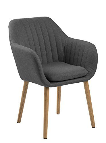 AC Design Furniture Wendy Stuhl, Stoff, Dunkelgrau, 59 X ... Https