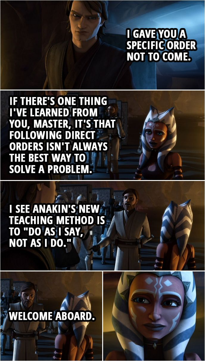 100 Best Star Wars The Clone Wars Quotes This Is A Pivotal Moment Scattered Quotes Star Wars Jokes Star Wars Ahsoka Star Wars Quotes