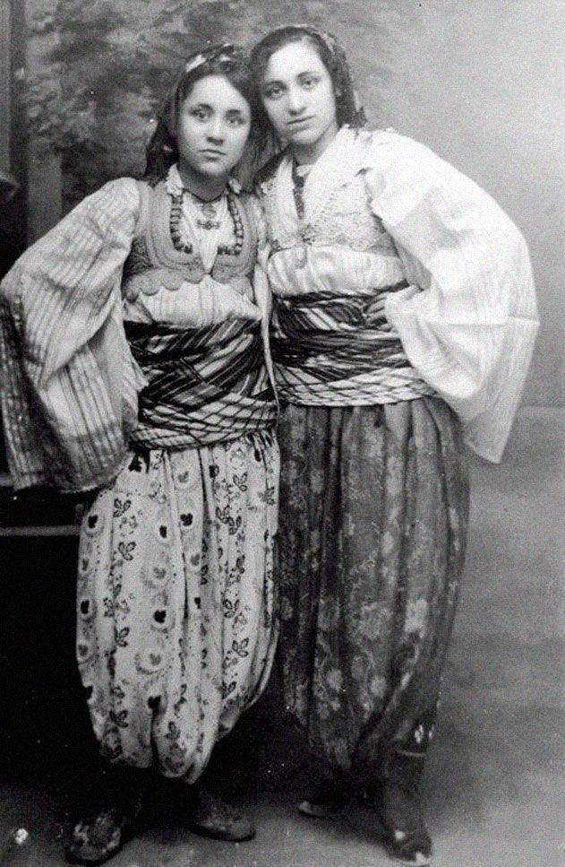 Mother Terresa as a teen in native Albanian clothing