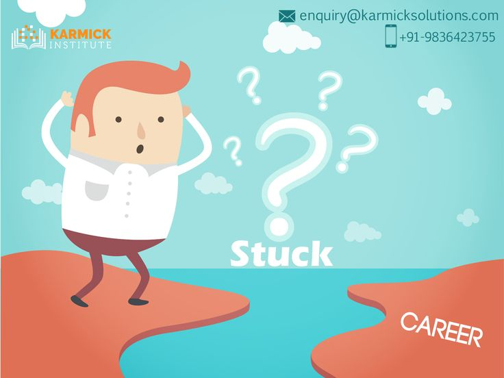 Stuck in midway? Dial: +91-9836423755 to avail a wide range of #career options at the Karmick Institute!