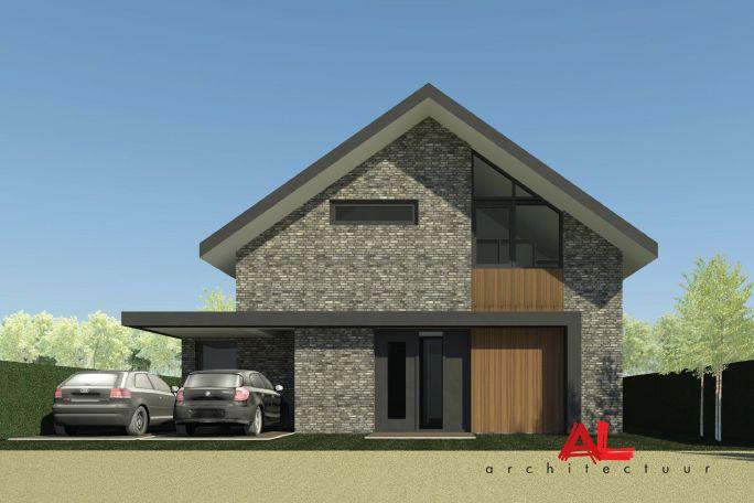 AL architectuur | Nieuwbouw | vrijstaande woning | Woonhuis | Nieuwbouwwoning Rhenen - by AL architecten