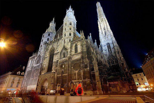 Собор Святого Стефана. Вена, Австрия