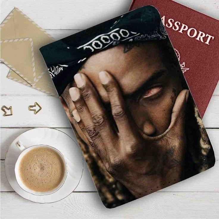 Fetty Wap Face Leather Passport Wallet Case Cover