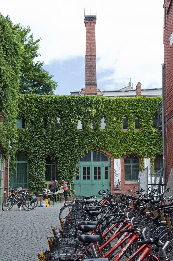 Kulturbrauerei Prenzlauer Berg, Berlin. Bike rental.