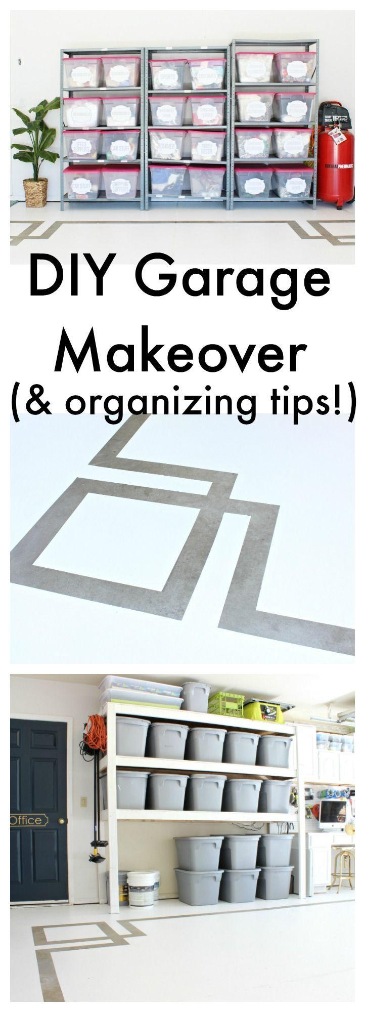 388 best garage makeover images on pinterest garage storage diy garage makeover and organizing tips www classyclutter solutioingenieria Images