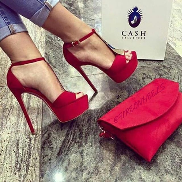 Red Heels by #cashcalzature  Like or Love?