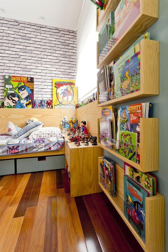 Dcore você | Quarto de Menino – Da Infância a Adolescência Em 100 Imagens | http://www.dcorevoce.com.br