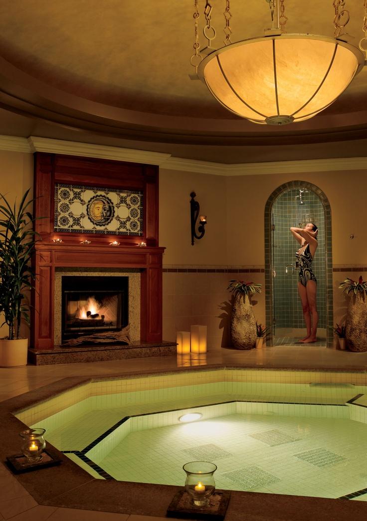 San Francisco Map Ritz Carlton%0A The relaxing coed Roman mineral bath at The RitzCarlton Spa  Half
