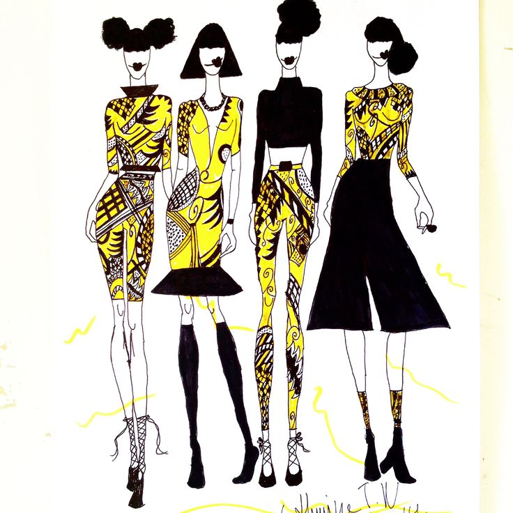 Fashion drawing  Made by me