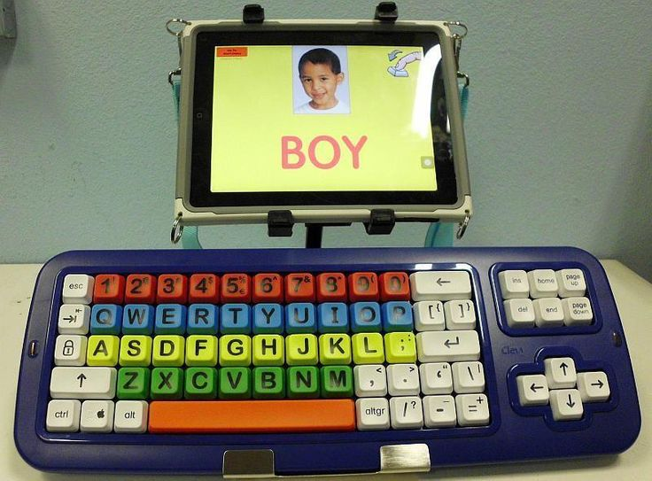 RJ Cooper's BIG Blue-Tooth keyboard provides a solution to access for individuals with mobility impaired. Check out a review of his new iPad access equipment at OT's with Apps. Carol