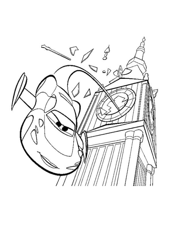 cars coloring page 2 is a coloring page from cars coloring booklet your children express their imagination when they color the cars coloring page they will