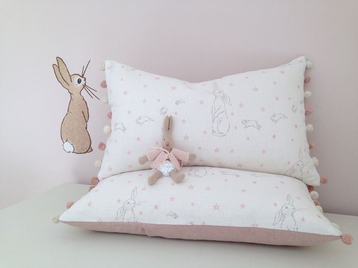 Rabbit All Star Cushions Oblong Cushions - Peony & Sage