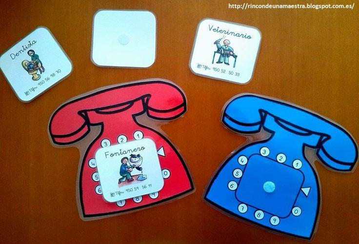Rincón de una maestra: Teléfono