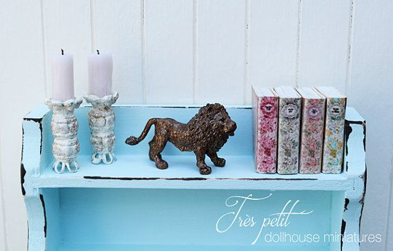 Hey, I found this really awesome Etsy listing at https://www.etsy.com/au/listing/237698360/bronze-lion-statue-for-dollhouse