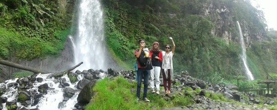 Cibereum Waterfall,west java