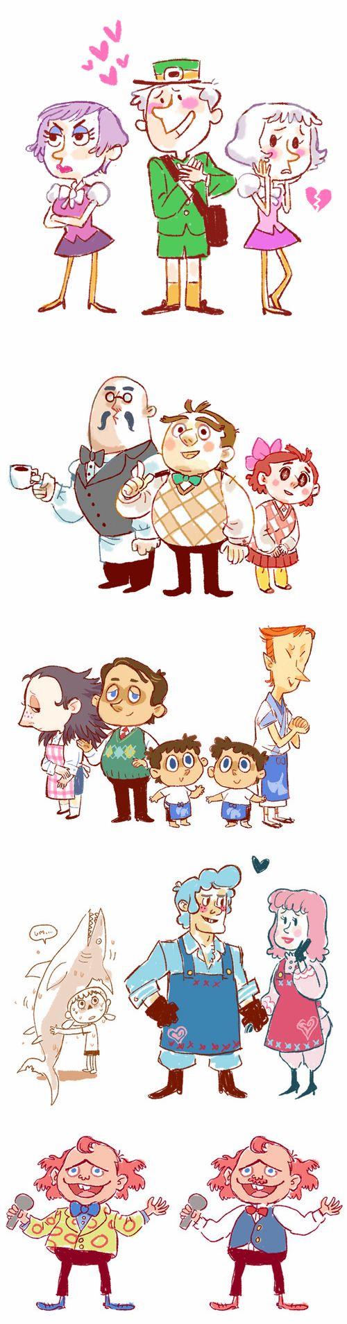 Human Crossing (Animal Crossing Gijinkas)