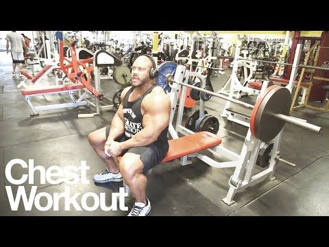 Exercícios CondeGYM: Phil Heath — Chest Workout — Road to Mr. Olympia 2...