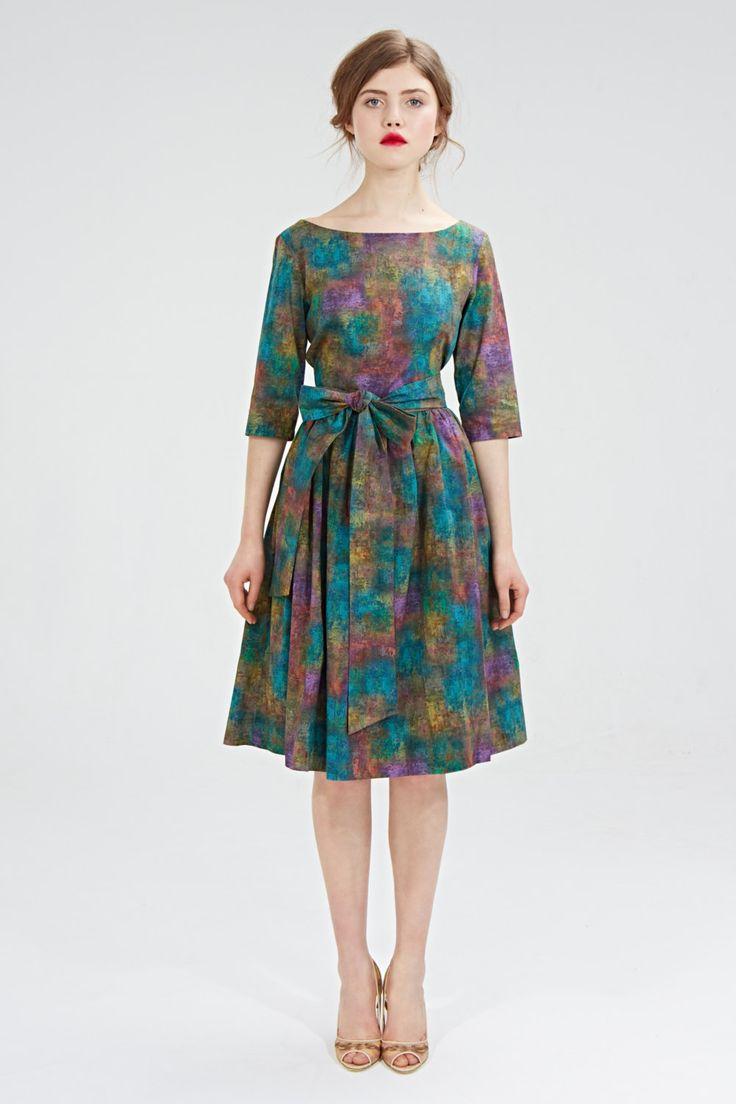 Boatneck Vintage Kleid Sommerkleid Partykleid Damen von mrspomeranz