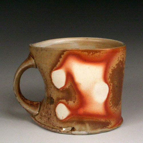 Woodfired Mug by Shawn O'Connor: Ceramics Art, Fire Pottery, Ceramics Cups, Shawn Oconnor, Micnov09 Baltclaywork, Woods Fire, Ceramics Mugs Tumblers Cups, Ceramics Inspiration, Beauty Pottery