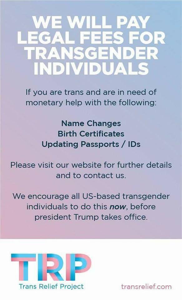 Gay legal name change