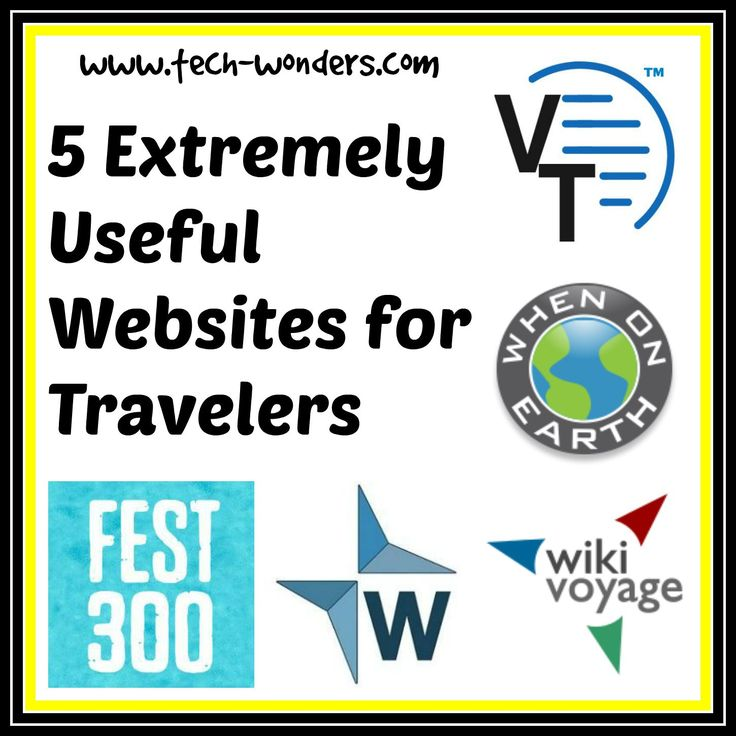 5 extremely useful #travel #websites | travel advice, travel guides and #traveltips http://www.tech-wonders.com/2015/07/5-extremely-useful-travel-website-travel-advice-travel-guides-travel-tips.html