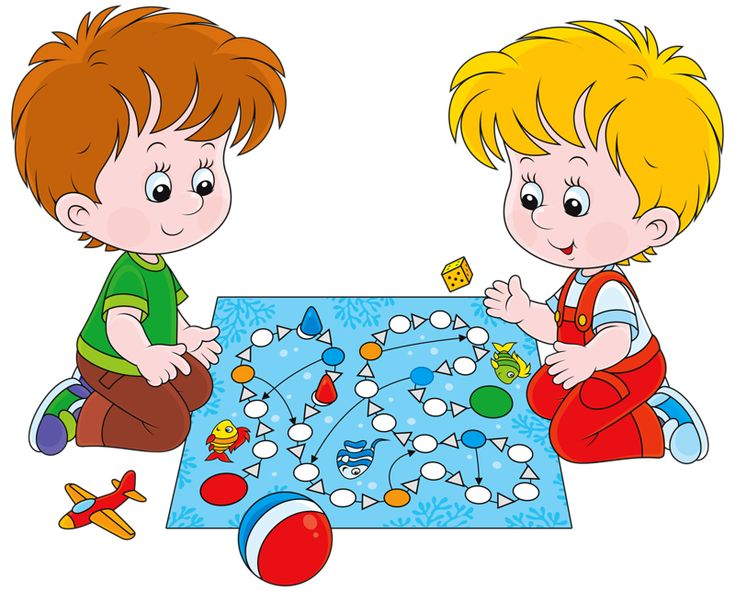 Картинка как дети играют в детском саду