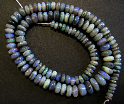Love this strand of Australian Black Opal -  for sale too :)
