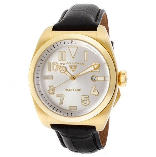 Old man gold watch