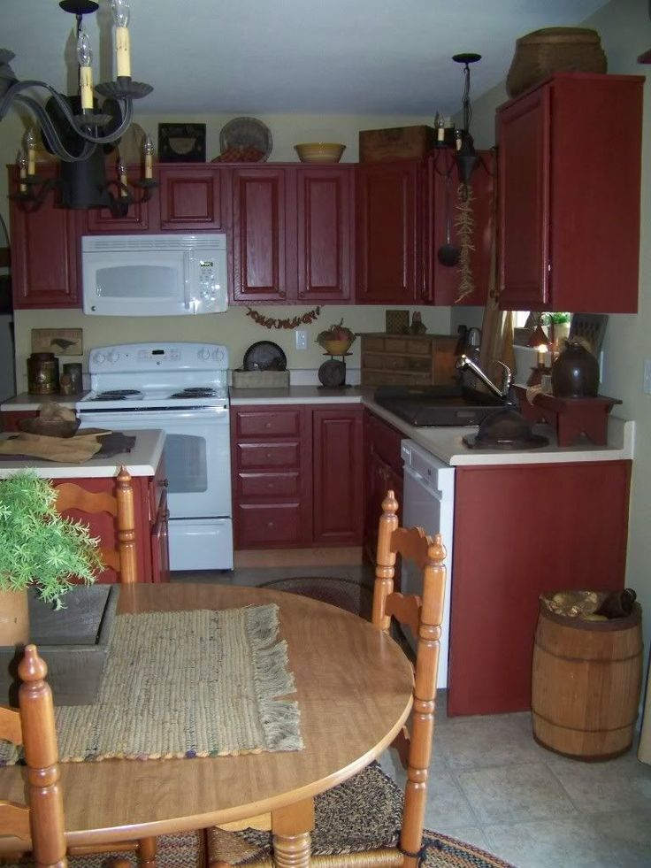 Would love to have a kitchen like this! #PrimitiveKitchen
