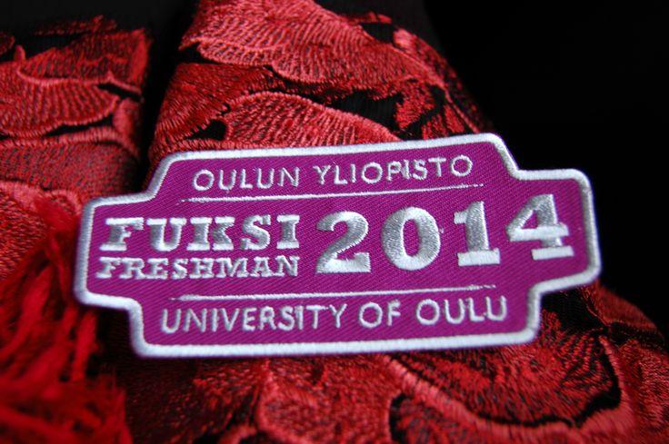 Freshman badge
