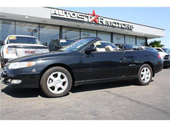 Convertible, 2002 Toyota Solara SE Convertible with 2 Door in Sacramento, CA (95825)