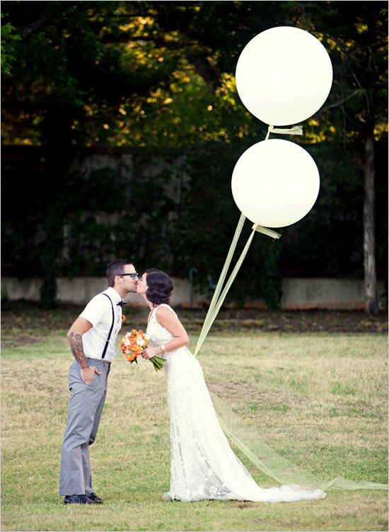 Love Is In The Air At This Charming Shabby Chic Wedding San Go Large Balloonswhite Balloonsgiant