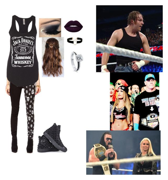 """Ringside for Dean Vs The Miz Vs John Cena (Number One Contender Match)"" by meganewalt ❤ liked on Polyvore featuring Tripp, Converse, NA-KD, Miss Selfridge, BERRICLE, Lime Crime, CENA and WWE"