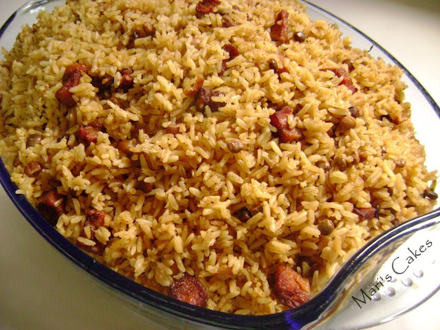 10 best rice arroz images on pinterest cooking recipes rice with pigeon peas moro de guandules o arroz con guandules dominican food forumfinder Gallery